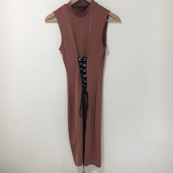 Forever 21 Dresses & Skirts - F21 corset detail dress